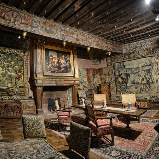 Epoque du moyen-âge et décoration originale